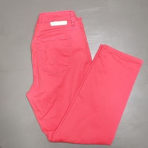 Womens calvin Klein  hot pink skinny crops